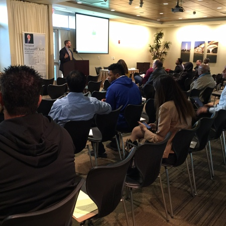 Jordan Marks Speaks at Small Business Workshop