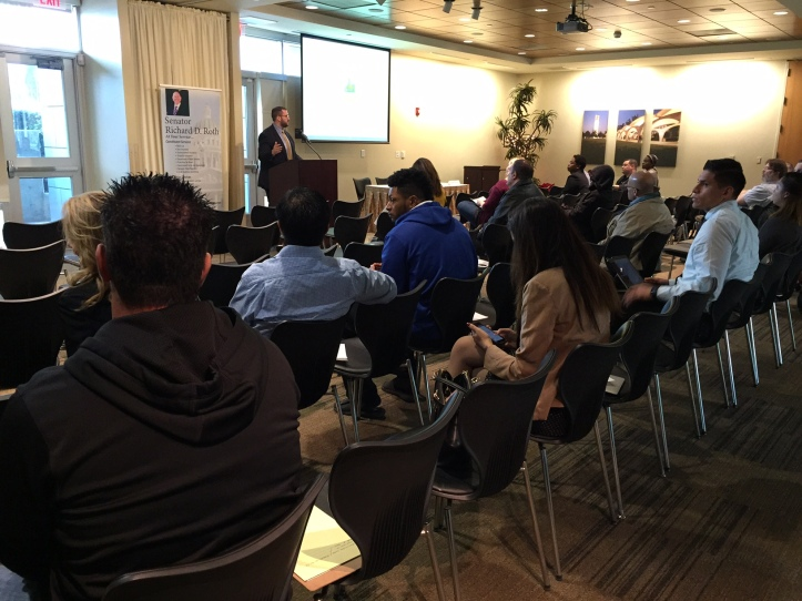 Jordan Marks Speaks at Small Business Workshop